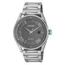 Citizen Men's Drive Analog Display Japanese Quartz Silver Watch