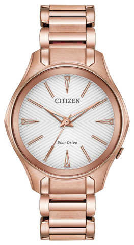 "Ladies Citizen Eco-Drive Stainless Steel ""Modena"" Watch"