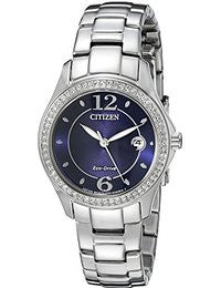 Citizen Eco-Drive Women's Silhouette Crystal Watch with Swarovski Accents