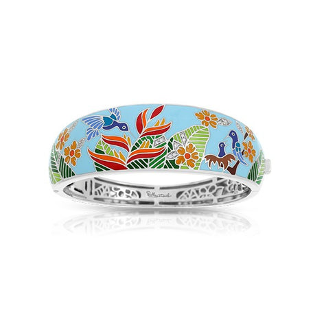Belle E'toile Hummingbird Bangle Bracelet