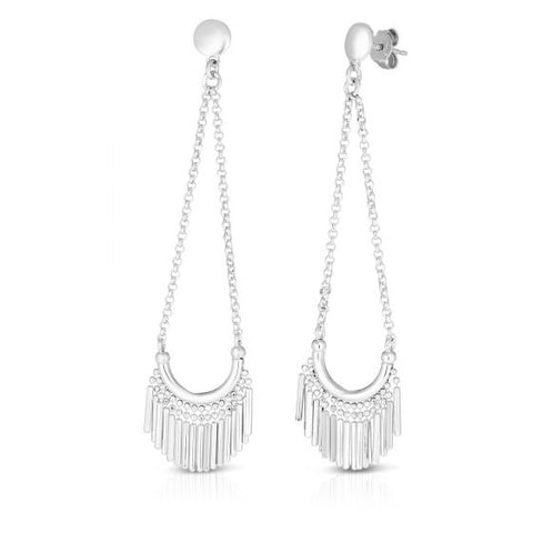 Sterling Silver Chandelier Style Drop Earrings