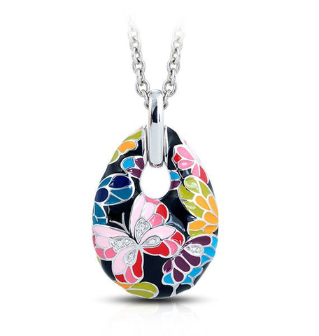 Belle E'toile Butterfly Kisses Pendant