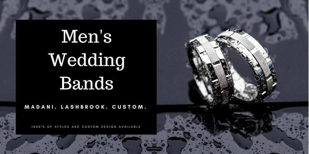 Auburn NY Jewelry Store Men's Wedding Bands