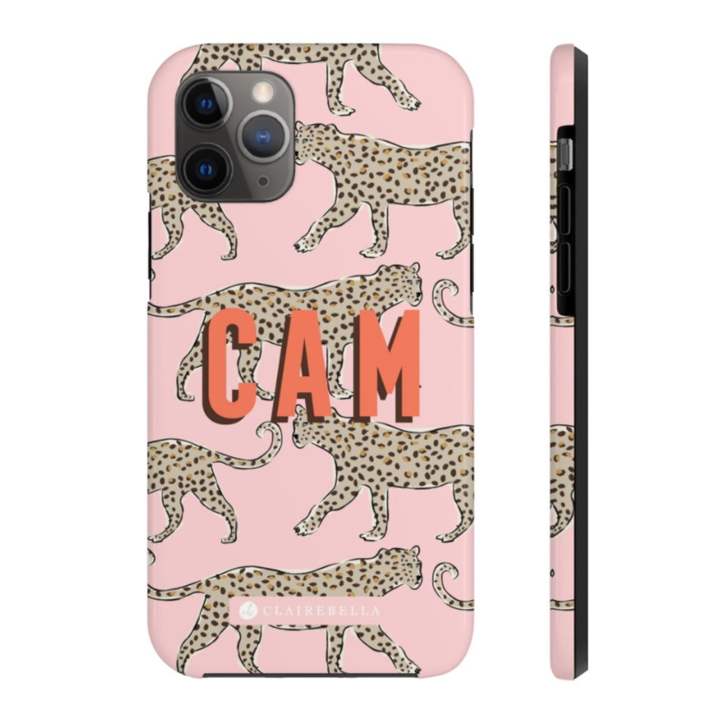 Leopard Blush iPhone 12/12 Pro Case