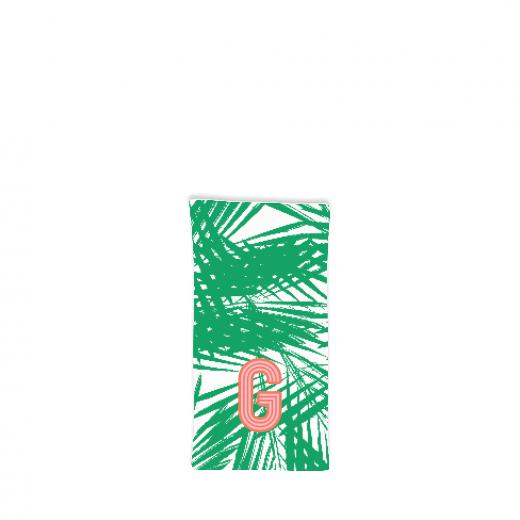 Palm Leaves Hostess Towel
