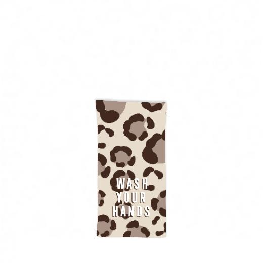 Leopard Spots Tan Hostess Towel