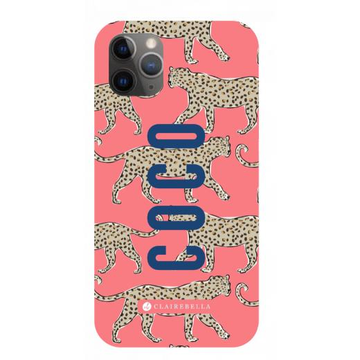Leopard Coral iPhone 12 Pro Max Case