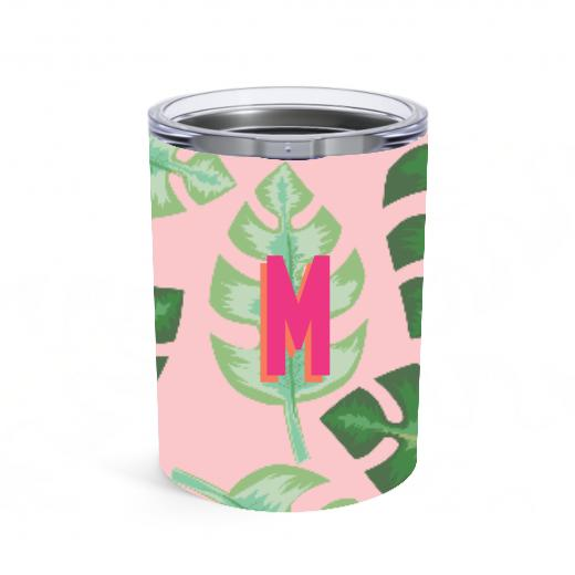 Small Tropical Pink Tumbler