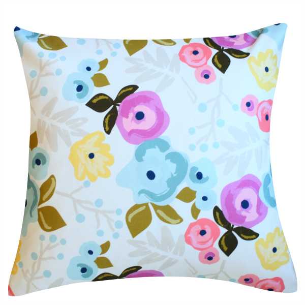 Bloom Ecru Pillow Cover