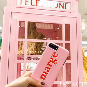 iPhone Tough Case 7/8 Plus Solid Pink