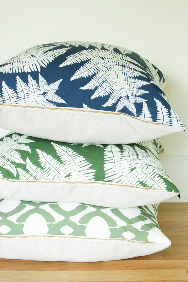 Luxe Langley Green Pillow