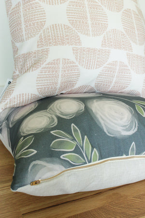 Luxe Moondance Rose Pillow Cover