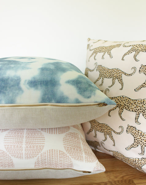 Luxe Moondance Orchid Pillow