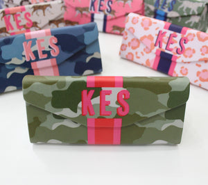 Camo Green Eyewear Case
