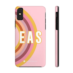 iPhone Tough Case XS Max Rainbow Pink