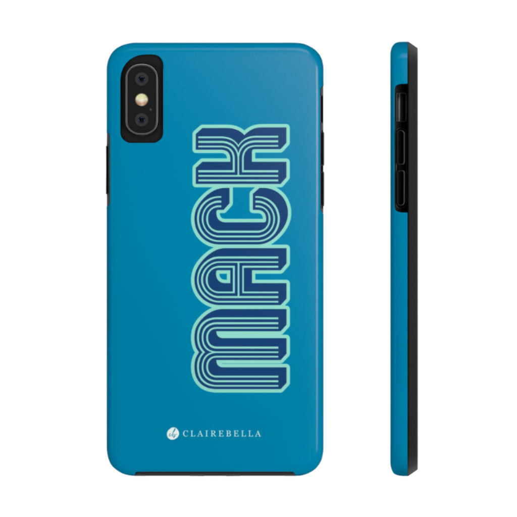 iPhone Tough Case XS Max Solid Blue