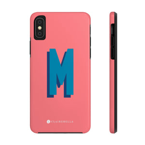 iPhone Tough Case XS Max Solid Coral
