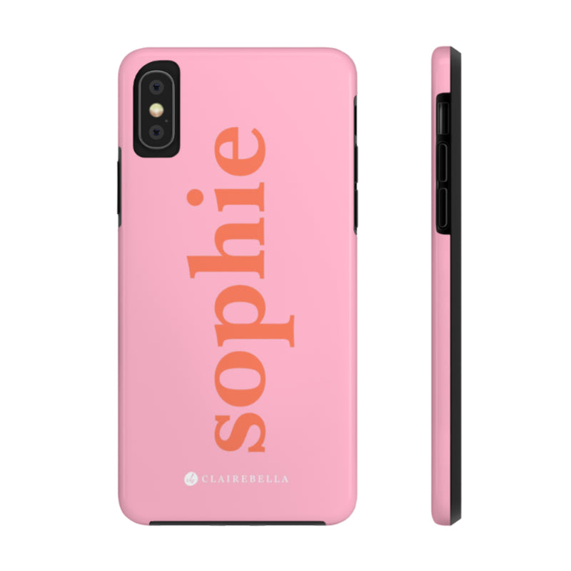 iPhone Tough Case XS Max Solid Pink