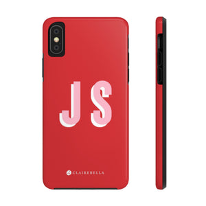 iPhone Tough Case XS Max Solid Red
