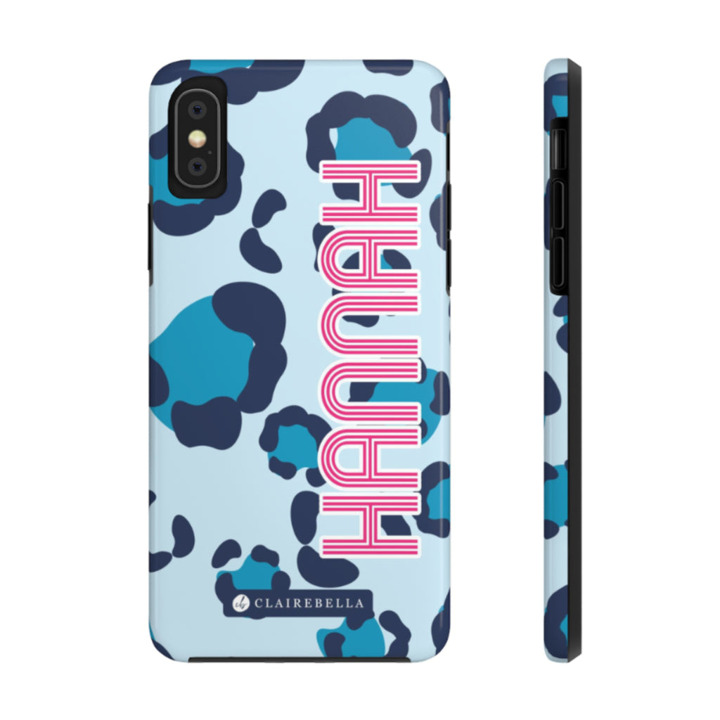 iPhone Tough Case XR Spots Blue