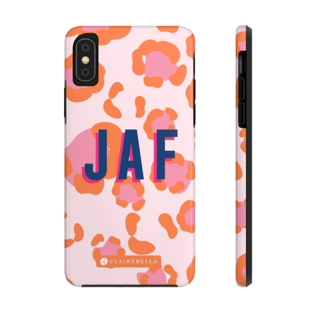 iPhone Tough Case X/XS Spots Pink