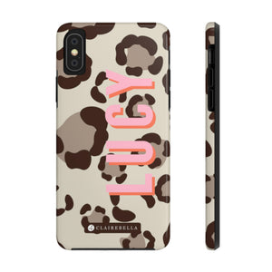 iPhone Tough Case X/XS Spots Tan