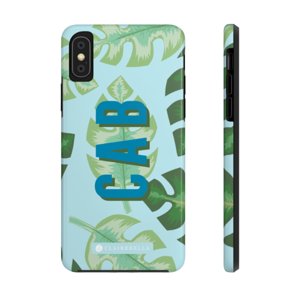 iPhone Tough Case X/XS Tropical Blue