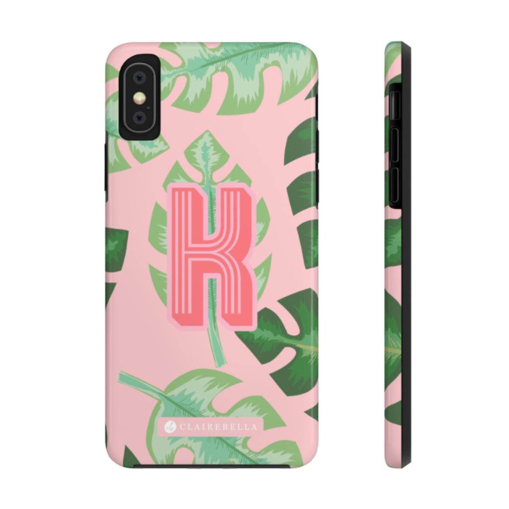 iPhone Tough Case XR Tropical Pink