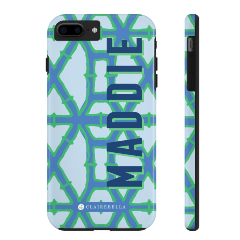 iPhone Tough Case 7/8 Plus Bamboo Blue
