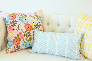Bloom Blush Pillow