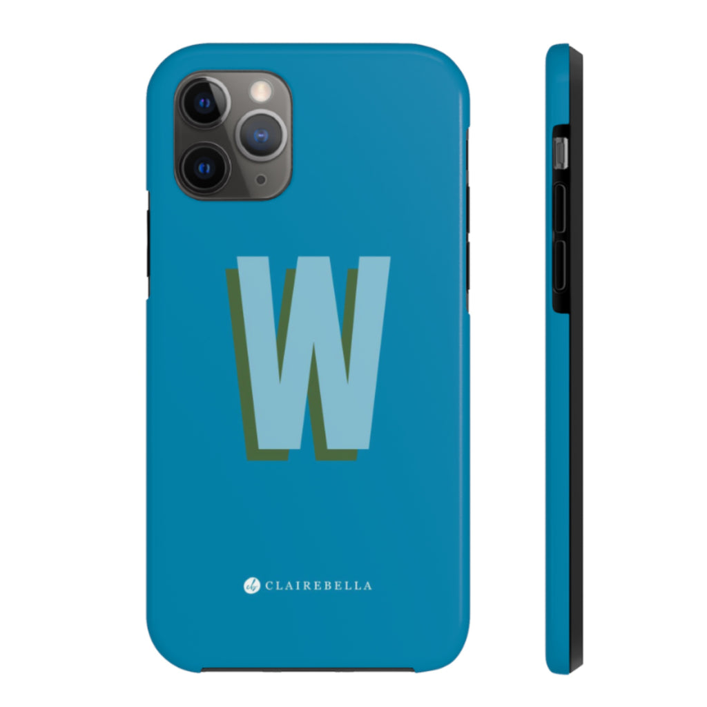 Solid Blue iPhone 12/12 Pro Case