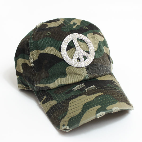 Peace Beaded Call Cap