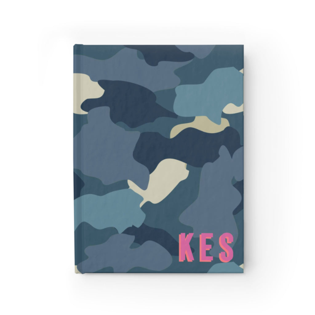 Camo Blue Journal