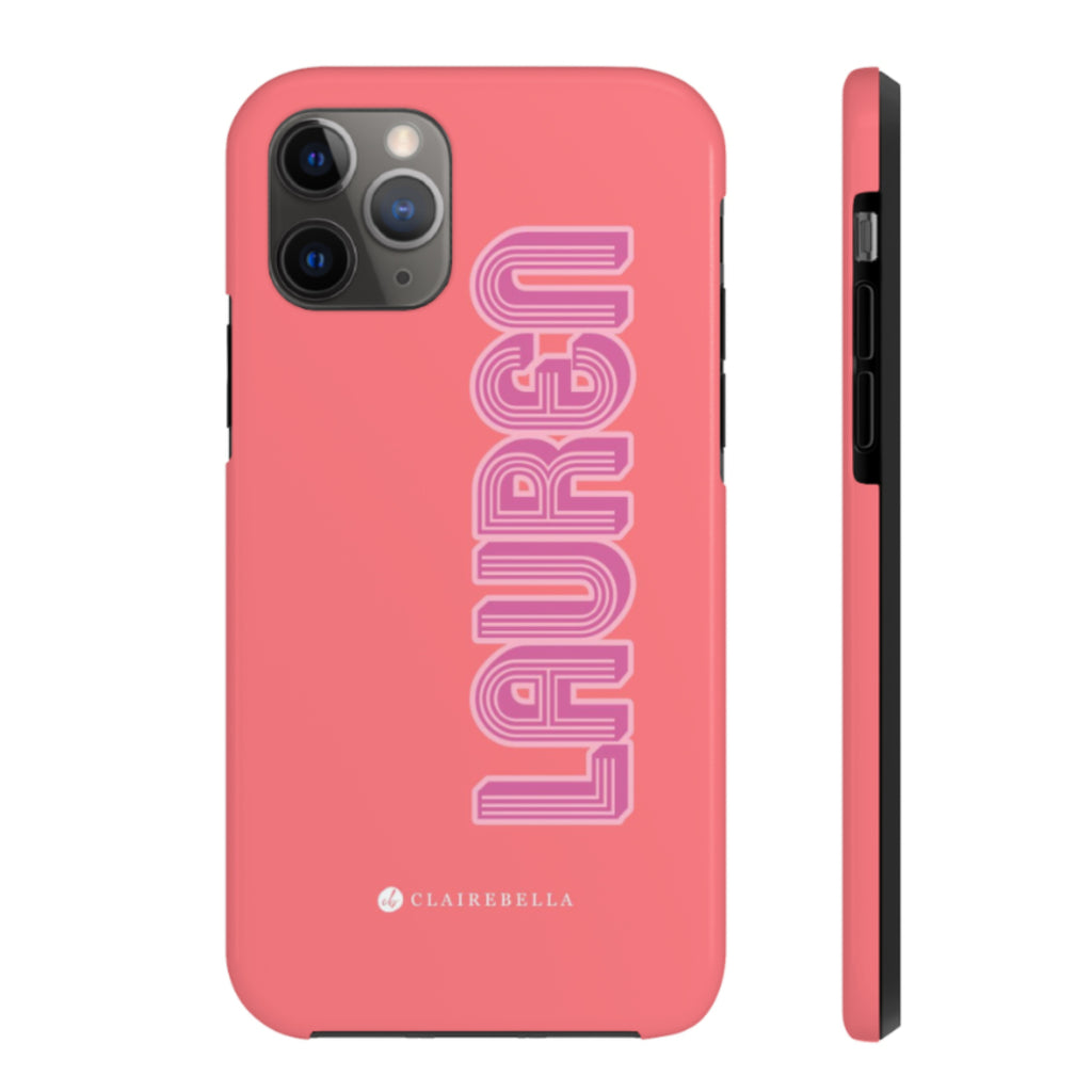 iPhone Tough Case 11 Pro Max Solid Coral