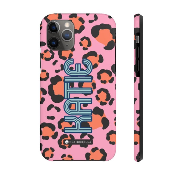 Anything But Ordinary Leopard Pink iPhone 11 Pro Max Case
