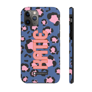Anything But Ordinary Leopard Blue iPhone 12/12 Pro Case