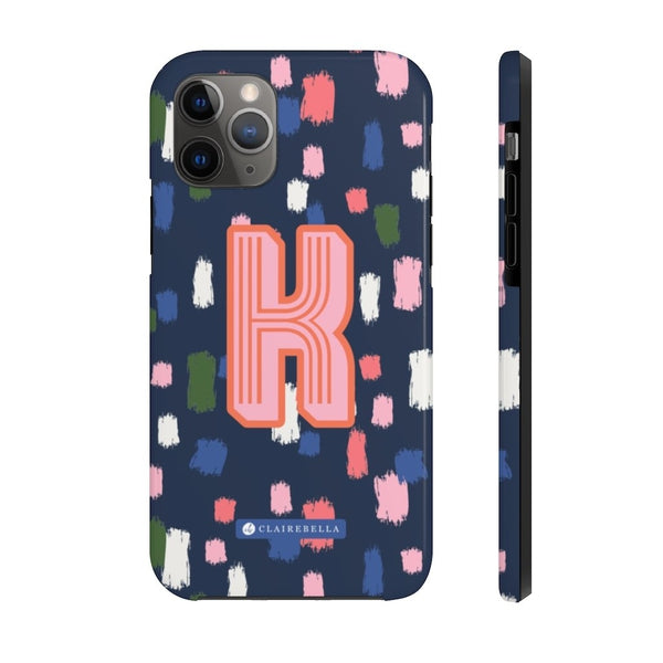 Come On Get Happy! Confetti Navy iPhone 11 Case
