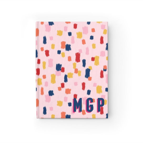 Come On Get Happy! Confetti Pink Journal