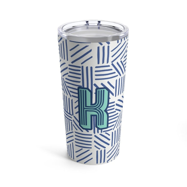 Mod About You Stripes Blue Tumbler