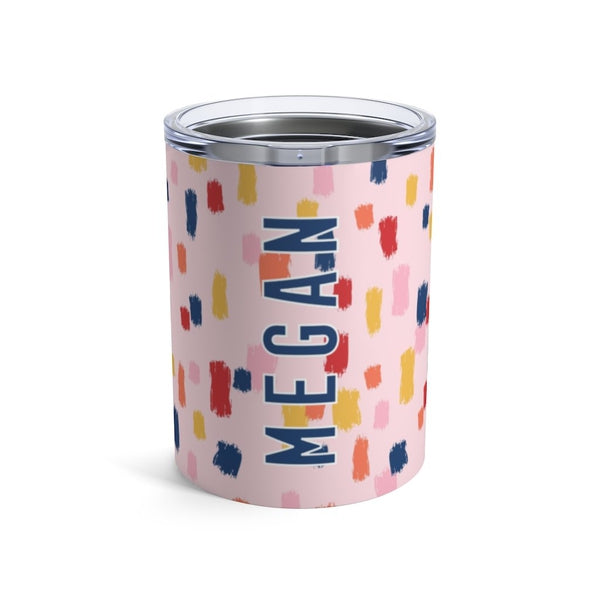 Come On Get Happy, Confetti Pink Small Tumbler