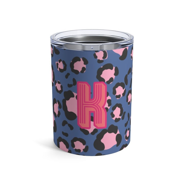 Anything But Ordinary Leopard Blue Small Tumbler