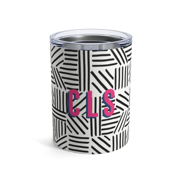 Mod About You Stripes Black Small Tumbler