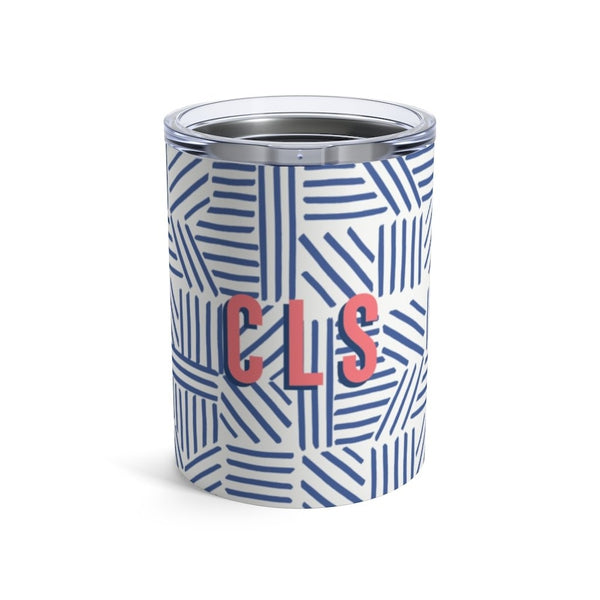 Mod About You Stripes Blue Small Tumbler