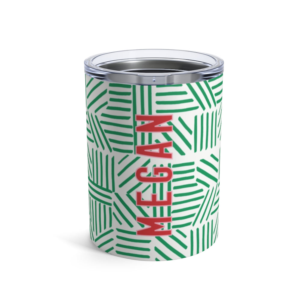 Mod About You Stripes Holiday Small Tumbler