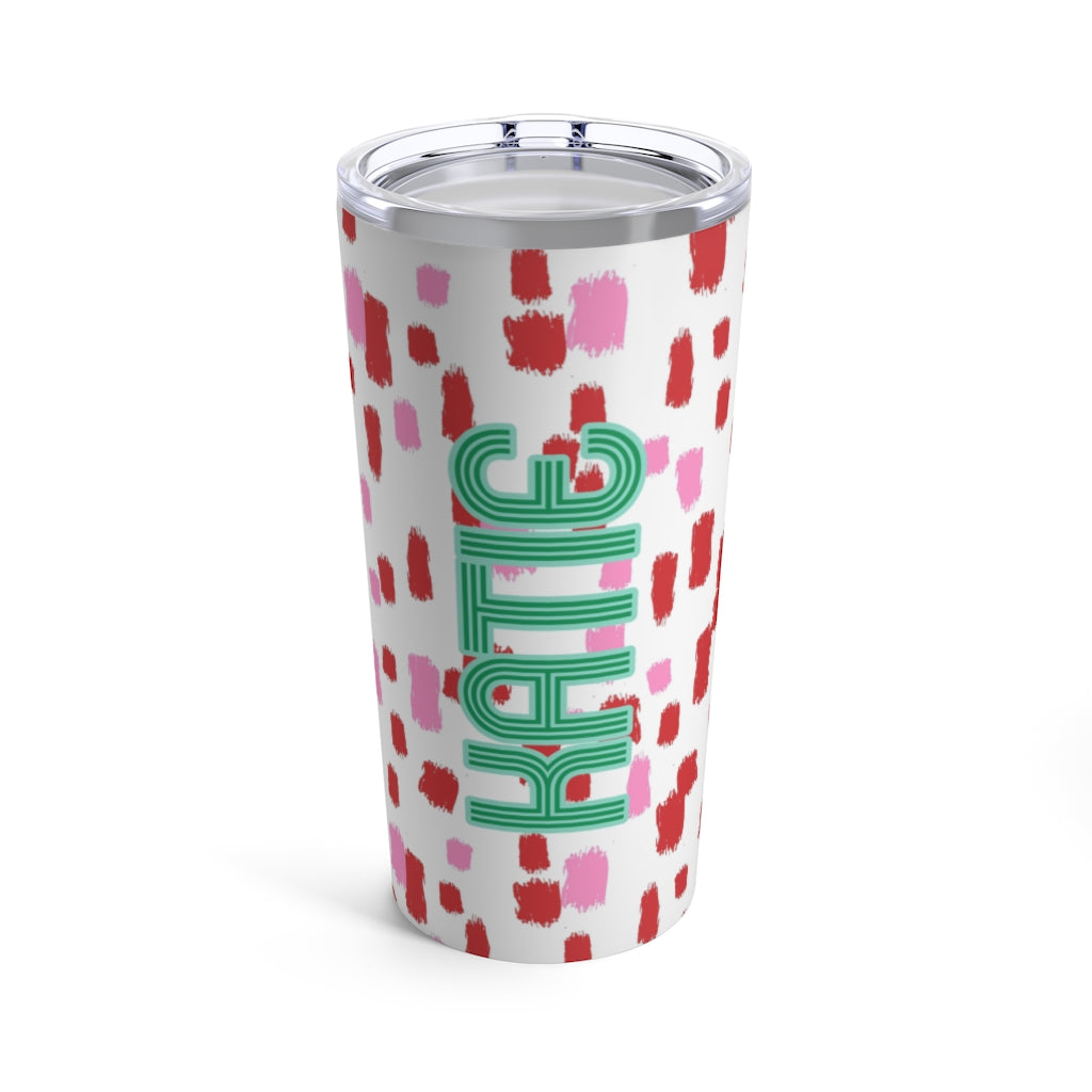 Come On Get Happy, Confetti Holiday Tumbler