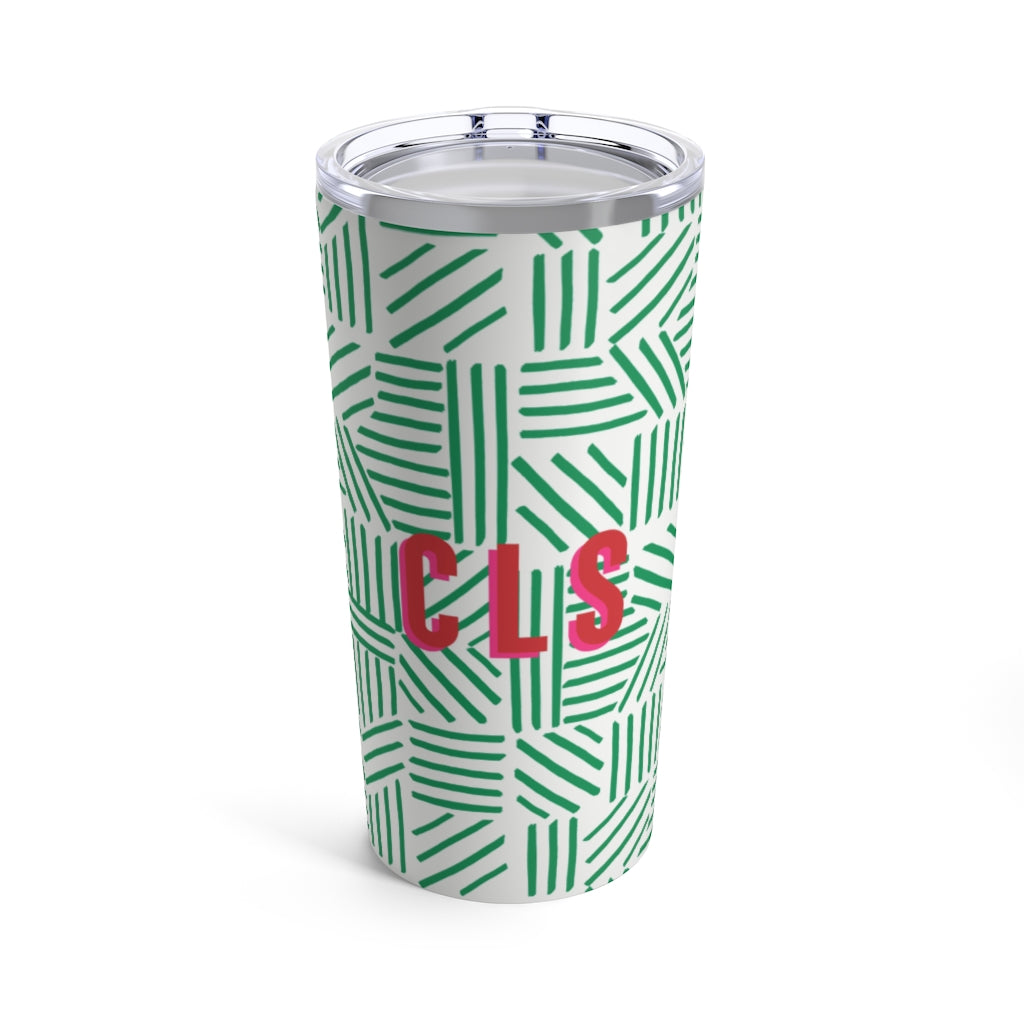 Mod About You Stripes Holiday Tumbler