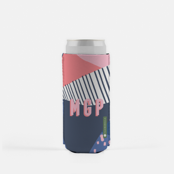 Abstract Is Where It's At! Slim Can Cooler