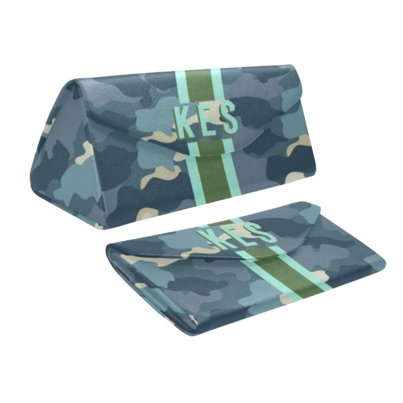Camo Blue/Green Eyewear Case