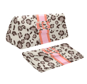 Spots Tan Eyewear Case
