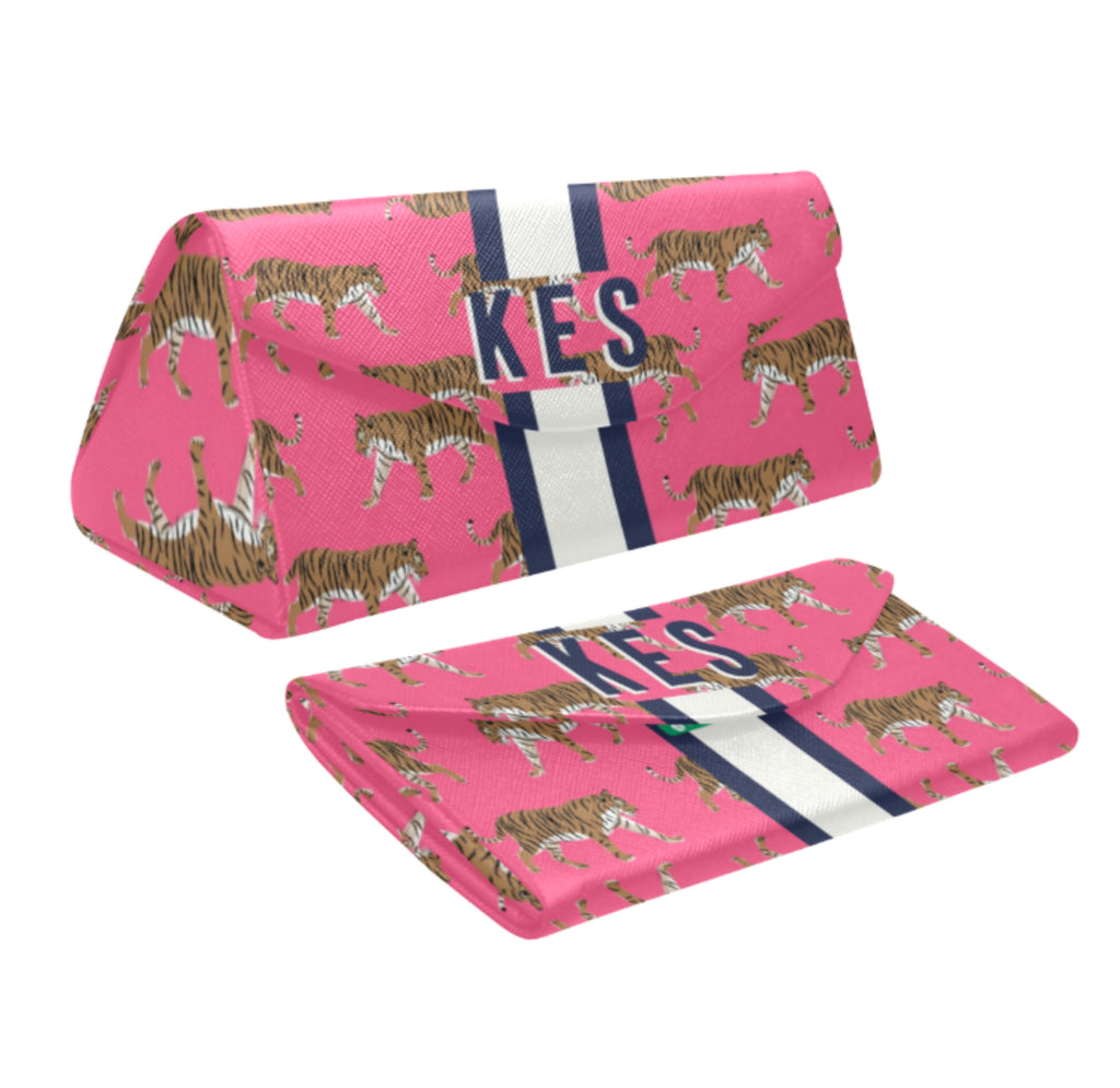 Tiger Pink Eyewear Case
